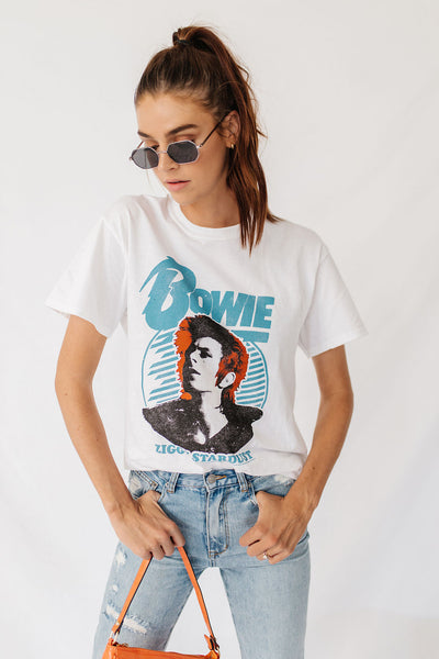 Bowie Love Graphic Tee