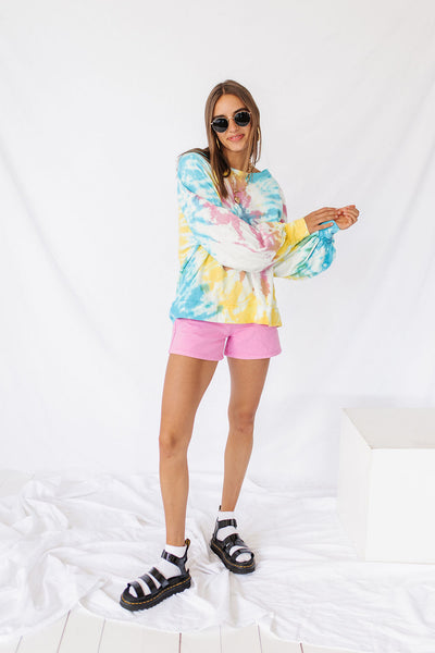 Catch A Vibe Tie Dye Pullover
