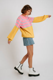 Magic Carpet Striped Sweater