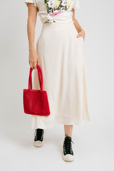 Sammie Skirt// Cream