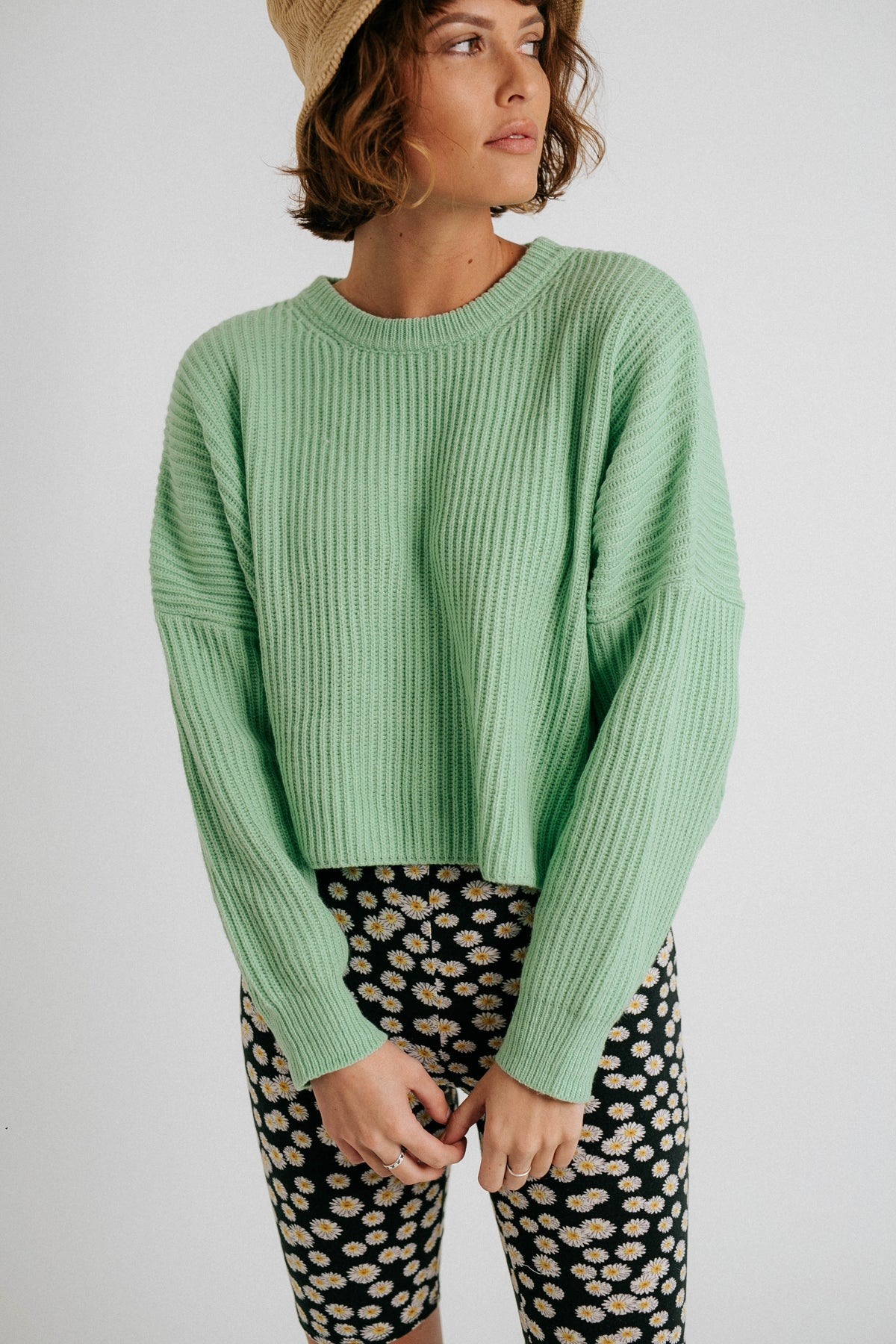 Mint To Be Sweater