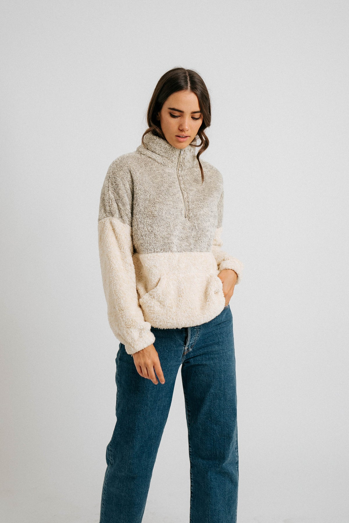 On Cloud Nine Pullover Jacket