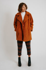 Harmony Teddy Coat