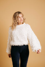 Crush On You Sweater// Ivory