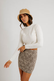 Leave it to Leopard Skirt