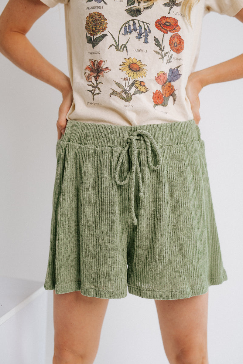 Keepin' It Cozy Shorts