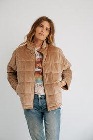 Dazed Babe Quilted Jacket