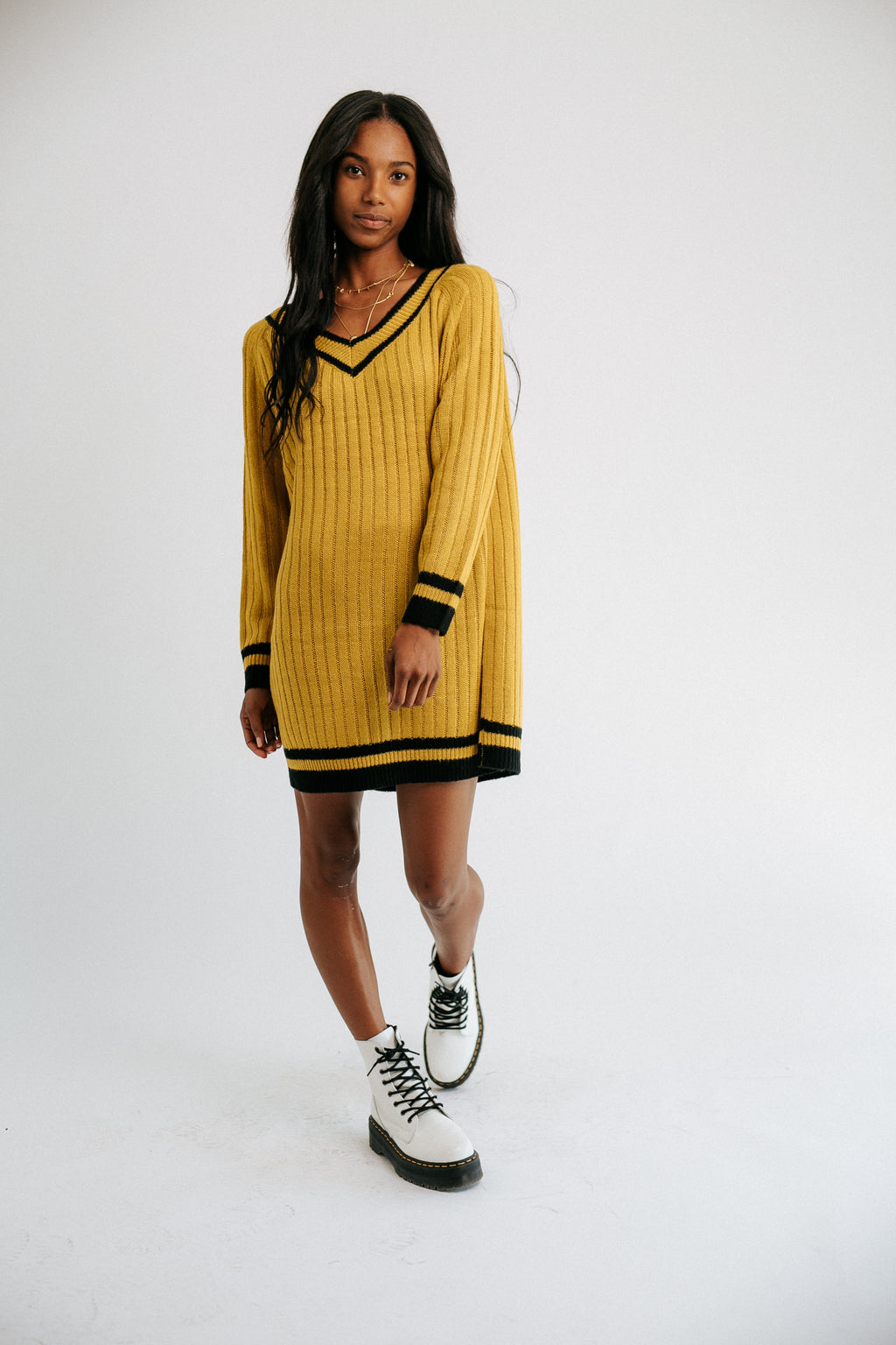 Stay Gold Knit Jumper