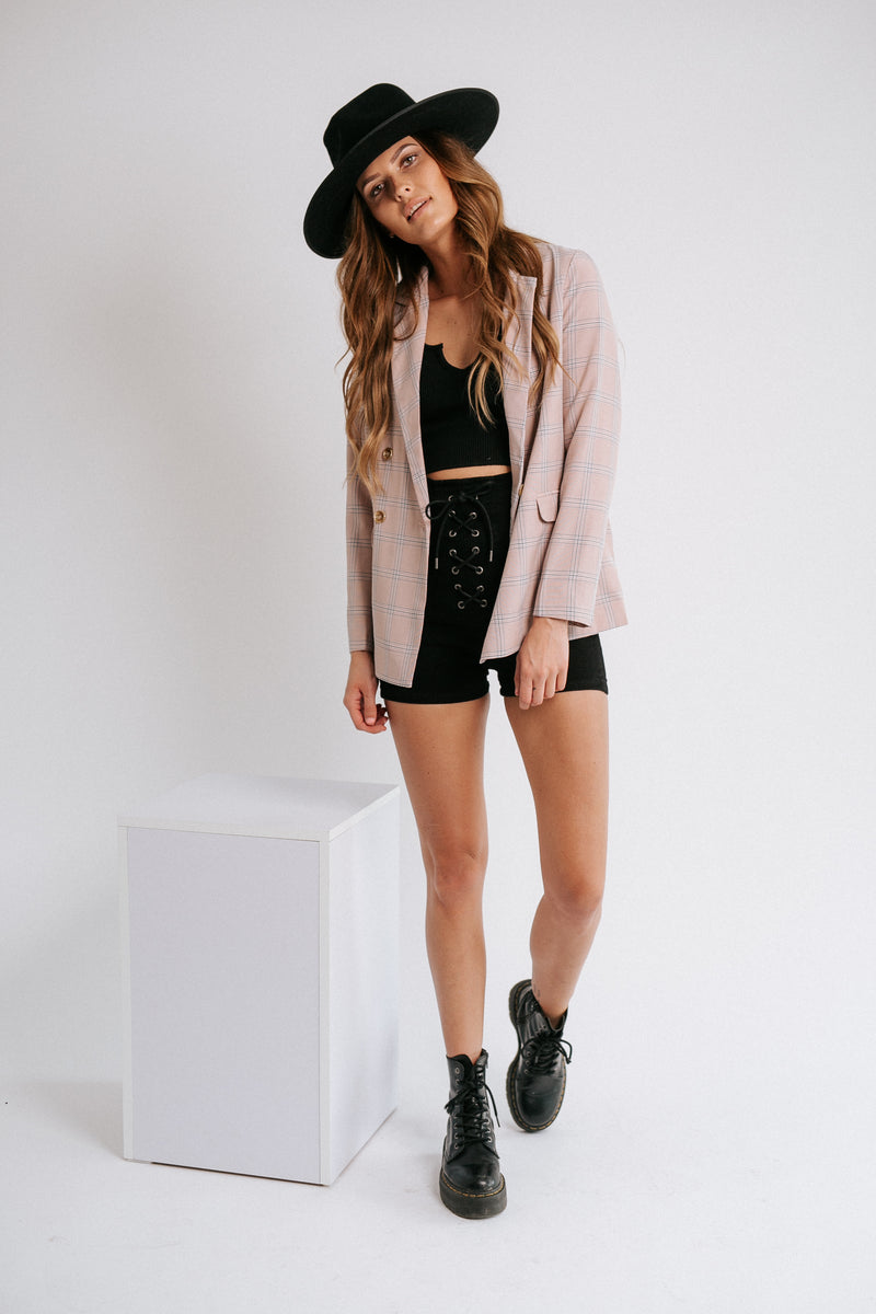 Risky Business Plaid Duster