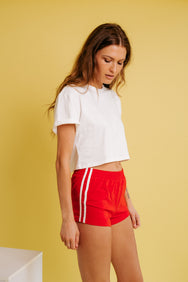 Sporty Girl Short- Indie Red