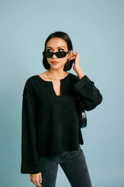 Bobbi Top// Black