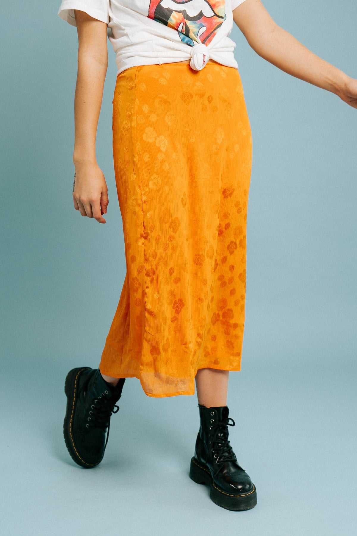 It Takes Two Midi Skirt