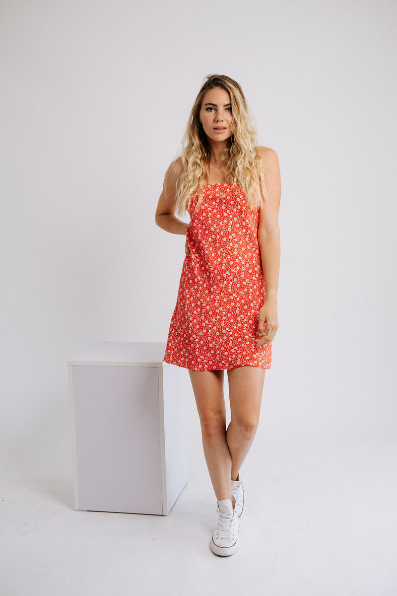 Young Love Floral Mini Dress
