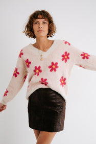 Electric Daisy Sweater