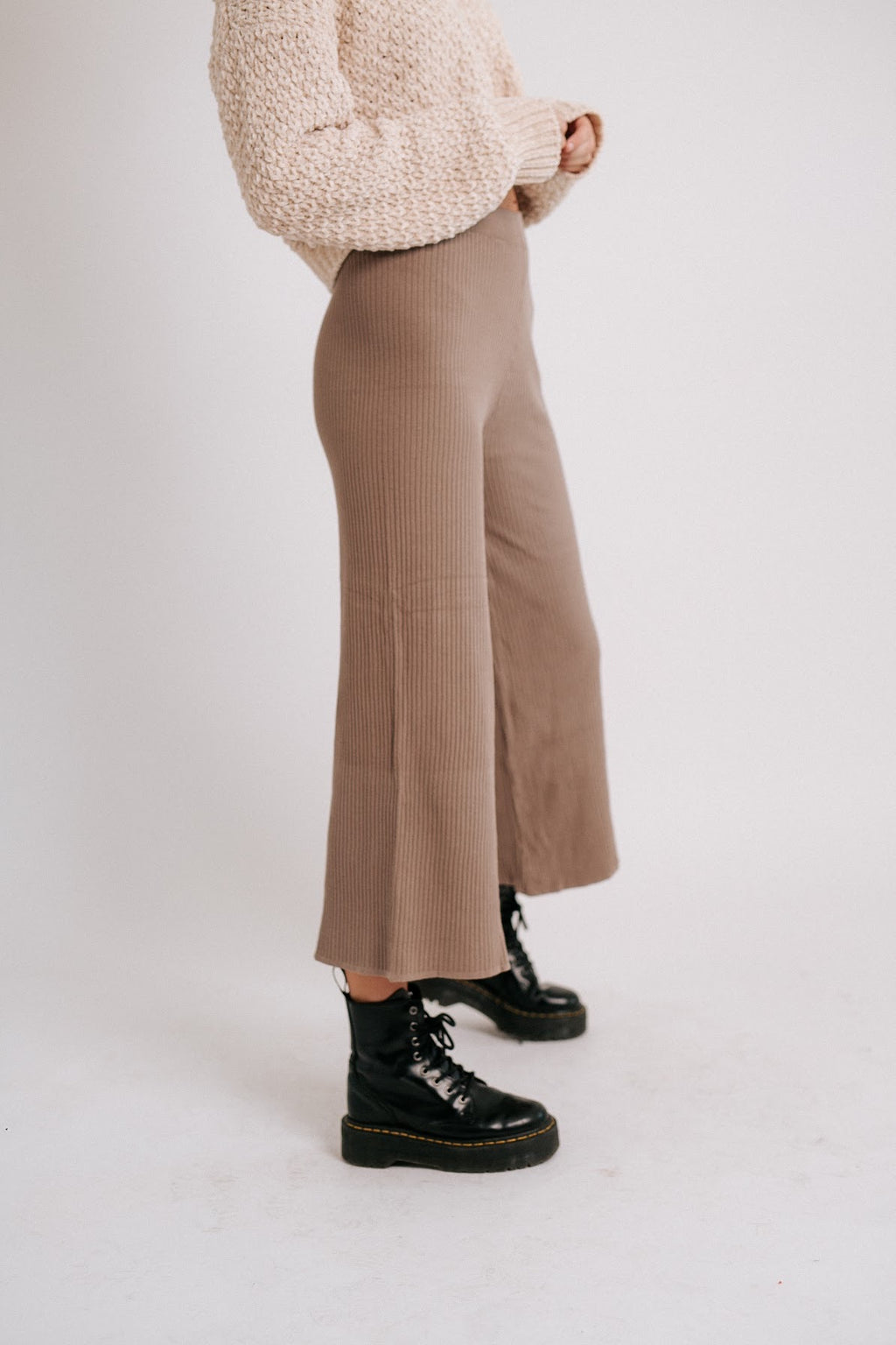 City Slouch Ribbed Pant