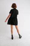 Dream Girl Mini Dress// Black