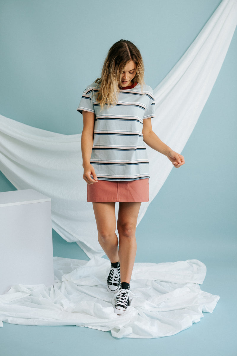 Cotton Candy Striped Tee