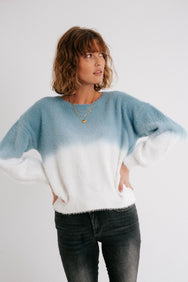Sky High Ombre Sweater