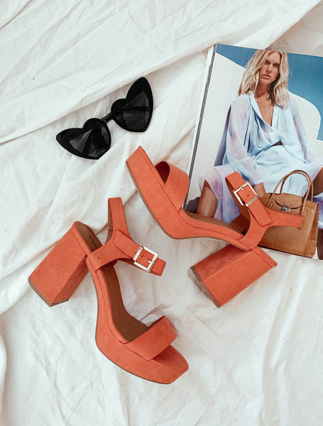Sunset Avenue Block Heel Sandal