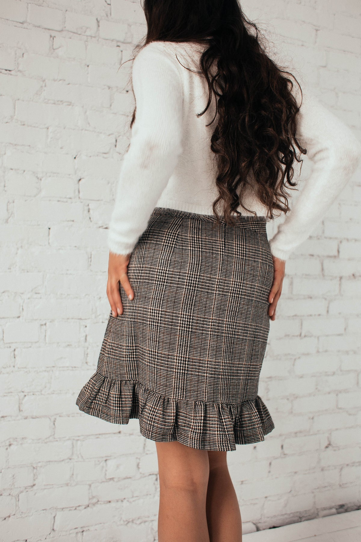 Lou Lou Plaid Skirt