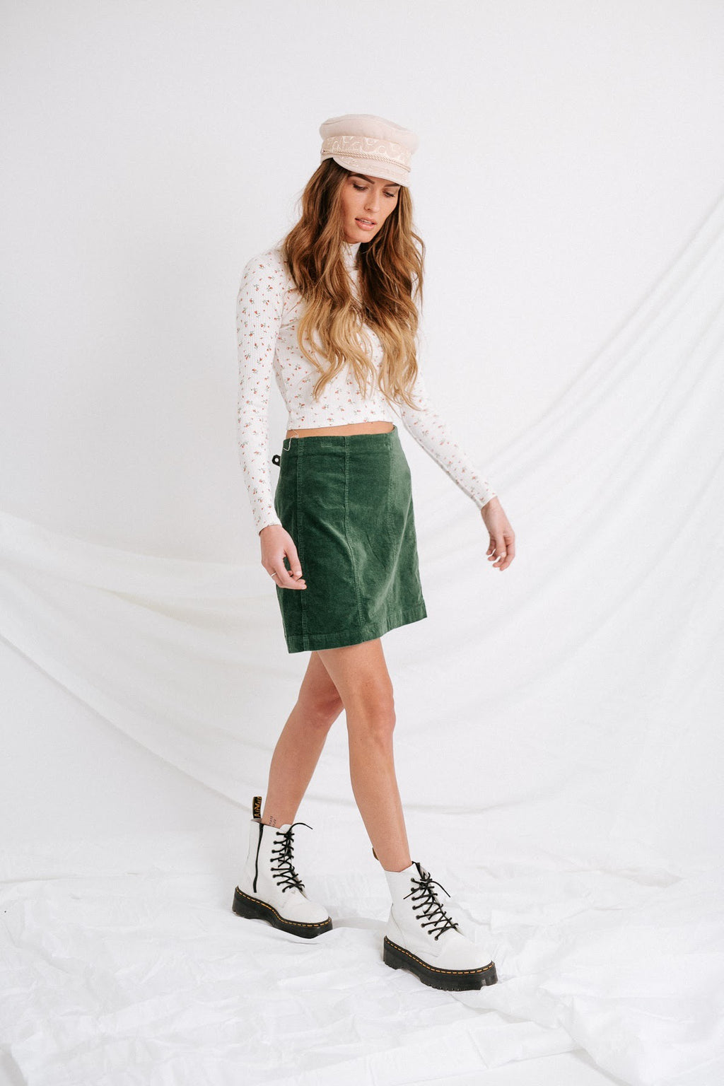 Corduroy Dreams Skirt