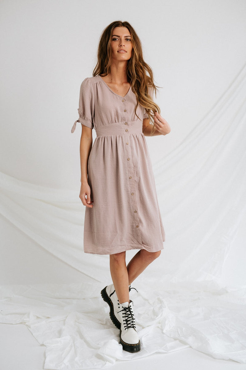 Lavender Lady Midi Dress