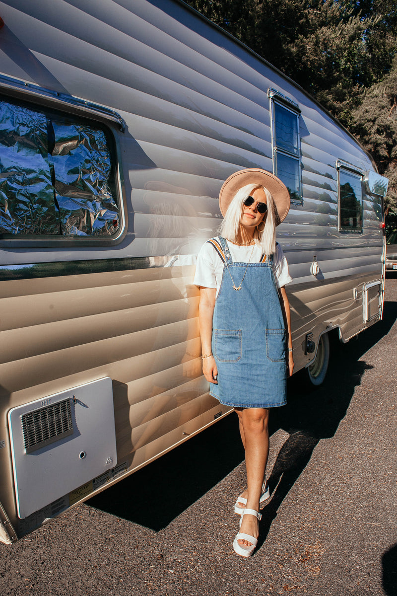 THE HOLLYWOOD Denim Dress in Medium Wash
