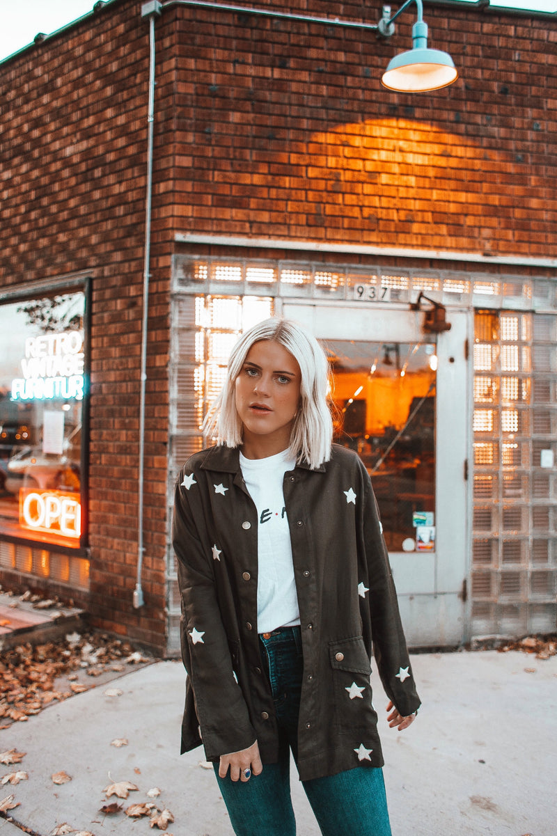 Lone Star Patch Duster Jacket