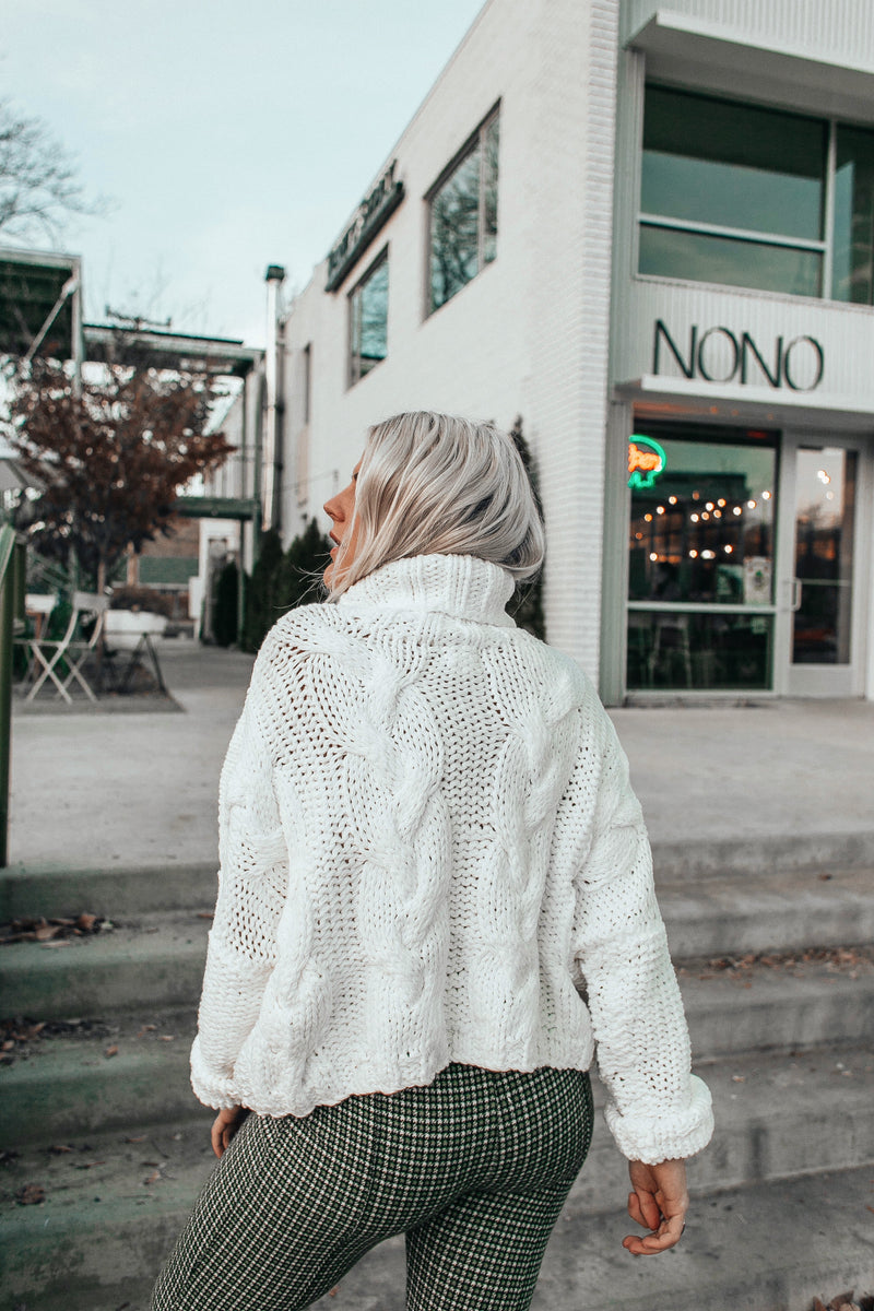 Snow Bunny Knit Sweater