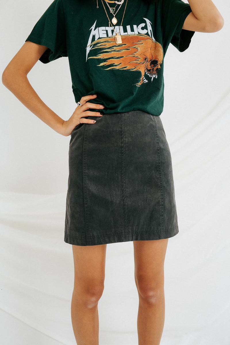 Biker Babe Mini Skirt