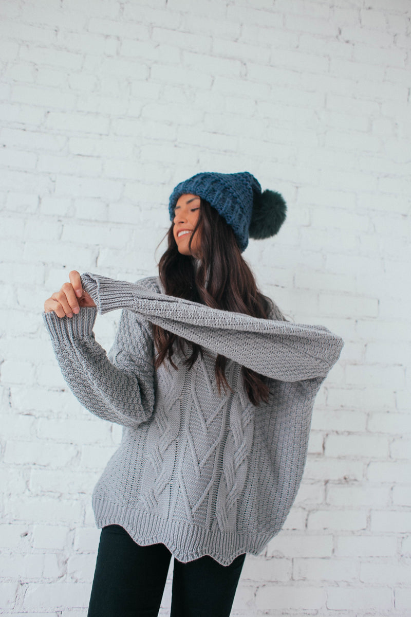 For the Love of Cables Sweater