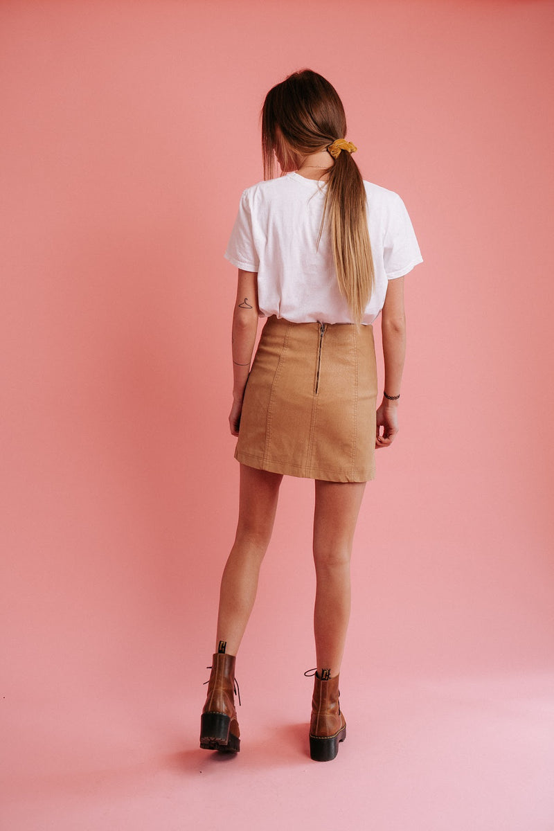 Spring Chic Mini Skirt
