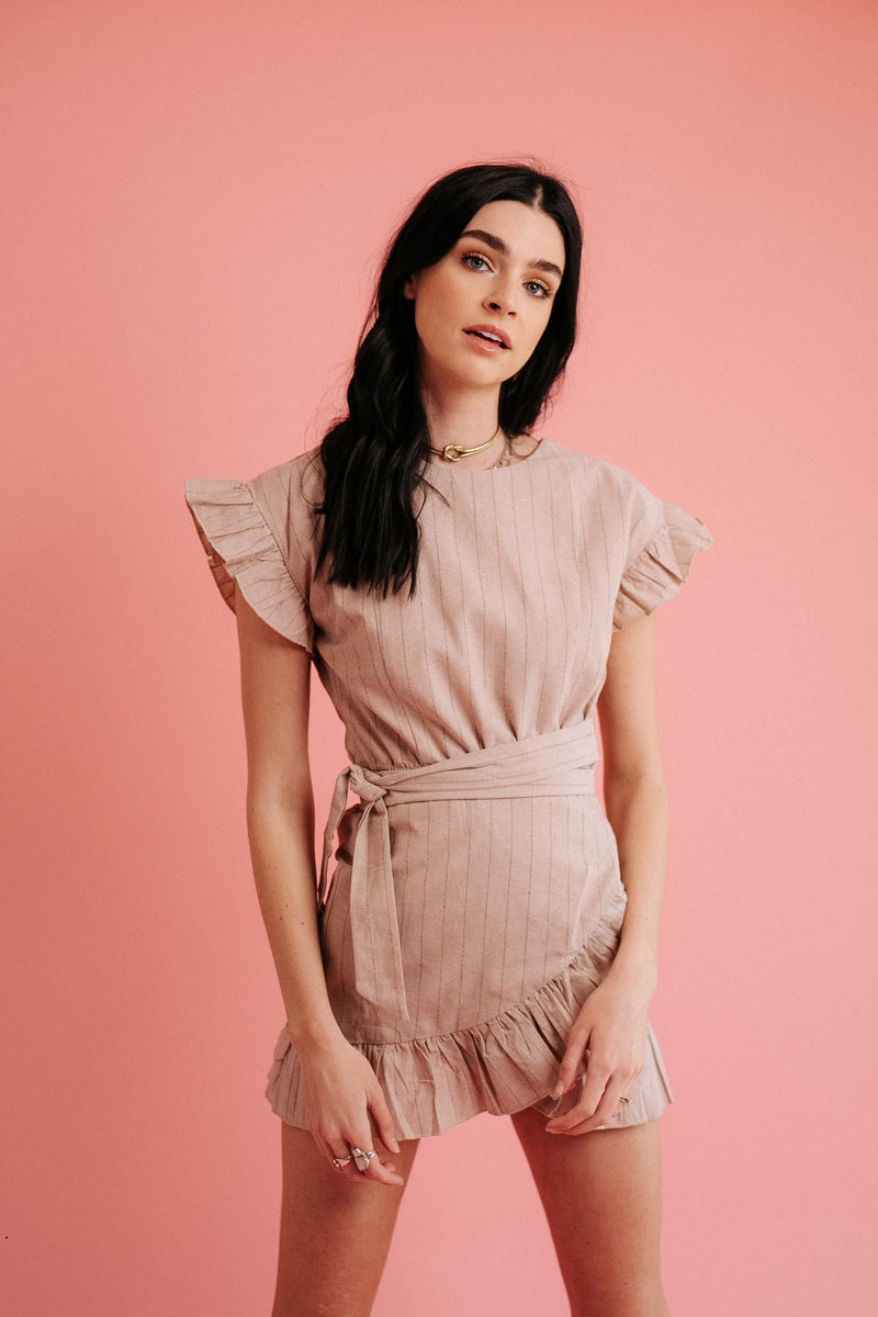 All You Need Linen Dress