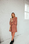 Summer Lovin' Dress In Dusty Rose