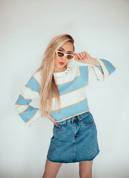 Cape Cod Striped Pullover