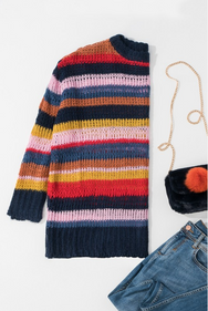 JUST MY STRIPE SWEATER