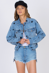 DAY TRIP DENIM STAR JACKET