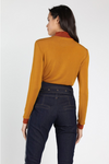 Oh Honey Mock Neck Top