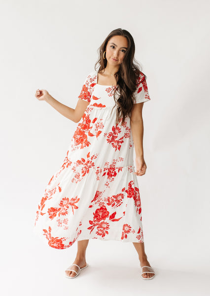 Sunset Views Floral Dress