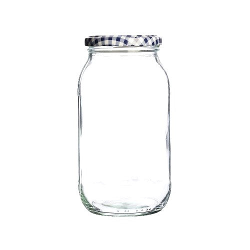 Kilner Round Twist Top Jar, 725ml