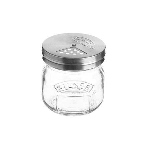 Kilner Storage Jar With Shaker Lid , 0.25 Litre