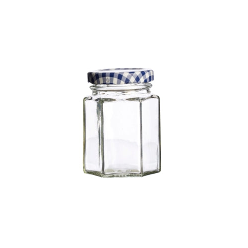 Kilner Hexagonal Twist Top Jar, 110ml