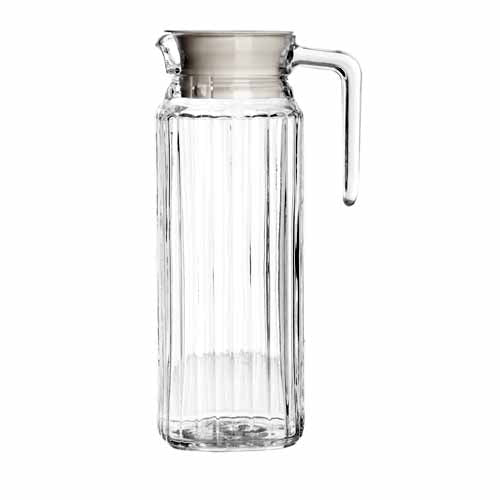 Essentials Fridge Jug With Lid, 1 Litre