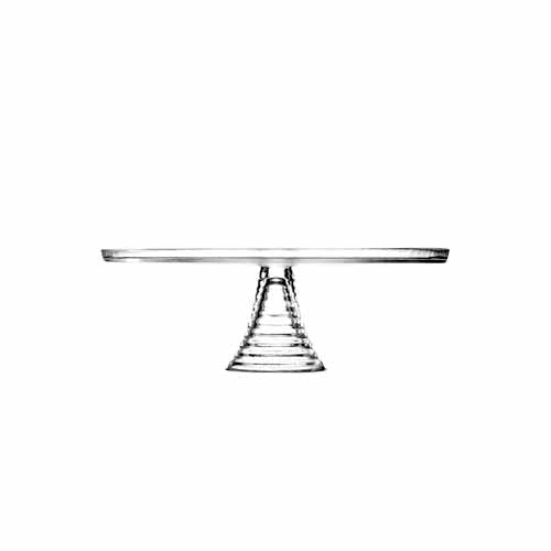 Entertain Glass Footed Cake Stand, 32cm