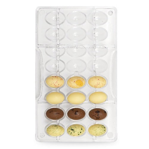 LITTLE EASTER EGGS CHOCOLATE MOULD, 24 CUP