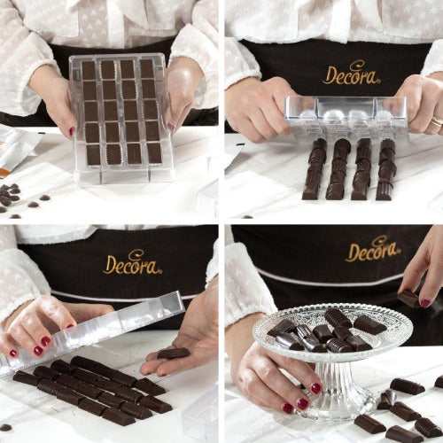 ASSORTED BLOCKS CHOCOLATE MOULD