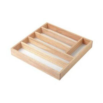 Stow Green Cutlery Drawer in Hevea Wood