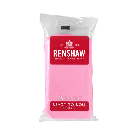Renshaw Ready To Roll Icing, 250g, Pink