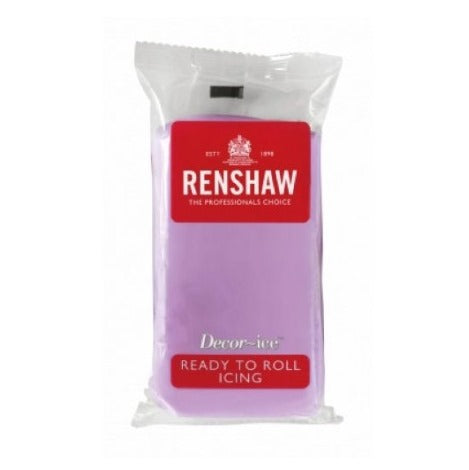 Renshaw Ready To Roll Icing, 250g, Dusky Lavender