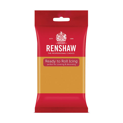 Renshaw Ready To Roll Icing, 250g, Autumn Gold